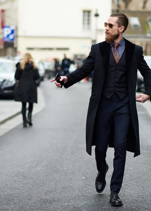Modern Gentleman. Men Are Discovering Fashion