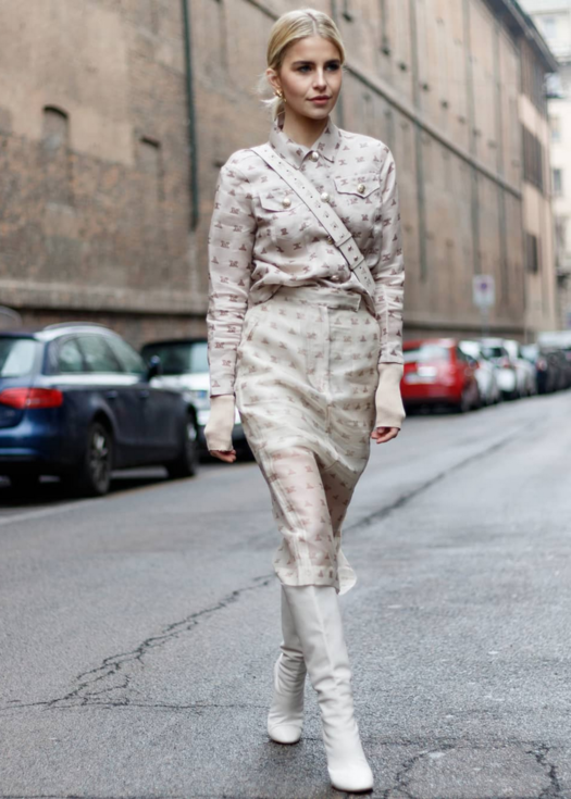 Milan Fashion Week's captivating street styles
