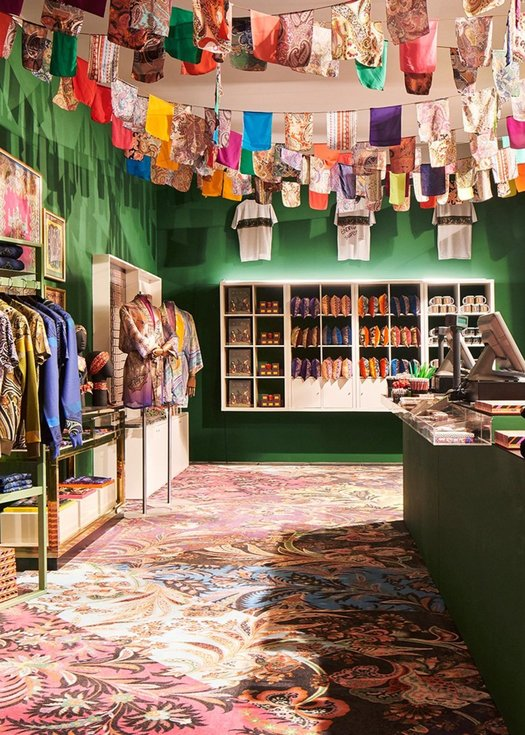"Etro Celebrates 50 Years of Visionary Style With Its ""Generation Paisley"" Exhibition"