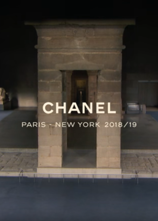 Chanel Métiers d'art 2018/2019 Paris – New York