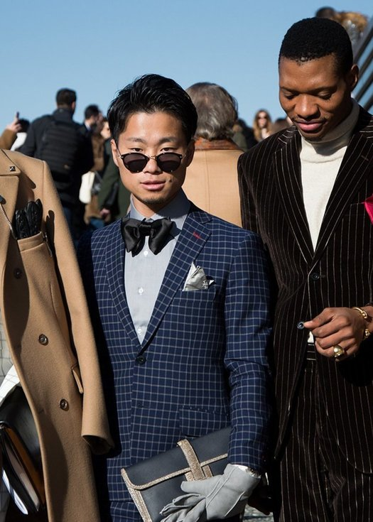 "Die ""best dressed"" Herren bei Pitti Uomo 95"