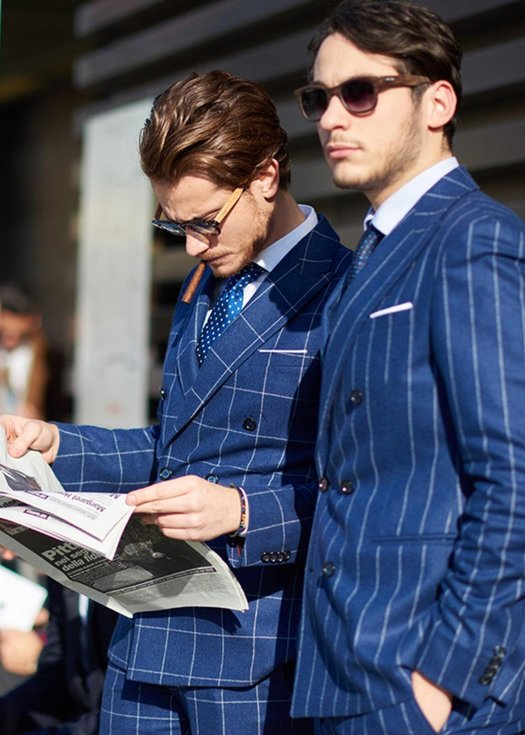Gentleman's in blue