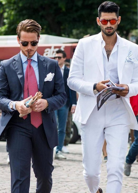 Gentlemen at Pitti Uomo