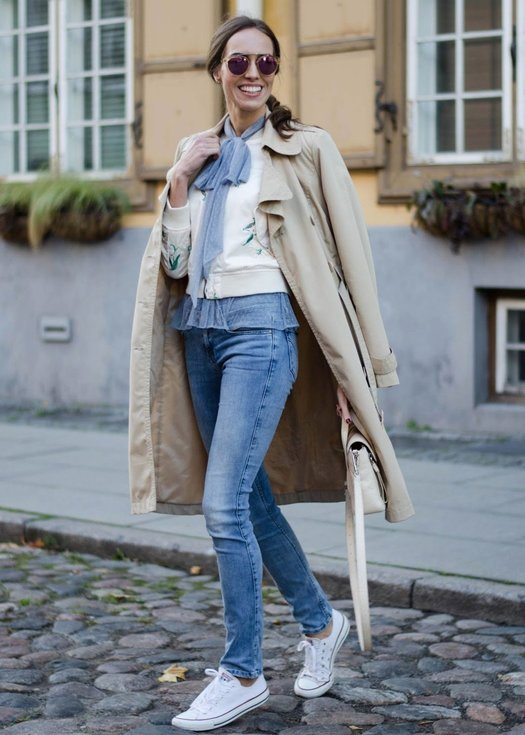 How to Layer a Trench Coat